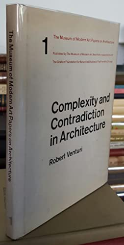 Complexity and Contradiction in Architecture. With an Introduction by Vincent Scully.: VENTURI, ...