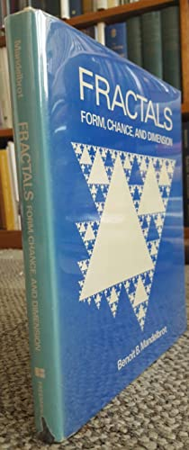 Fractals: Form, Chance, and Dimension. (FIRST EDITION IN ENGLISH, FIRST PRINTING.): MANDELBROT, ...