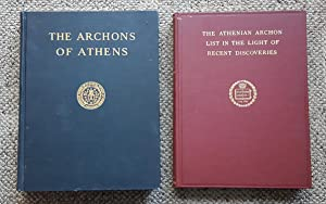 The Archons of Athens in the Hellenistic Age. Offered with: The Athenian Archon List in the Light ...