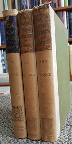 The Renaissance of Roman Architecture. Part I. Italy. Part II. England. Part III. France. 3 Vols.: ...