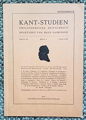 ' 'Sublimity' and the 'Moral Law' in Kant's Philosophy'. Pp. 502-524 ...