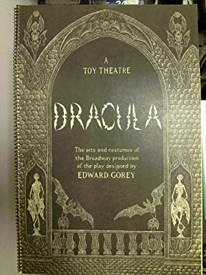 Dracula: A Toy Theatre, The Sets and: GOREY, Edward: