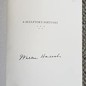 A Sculptor's Fortunes: Memoir by Walker Hancock, with Edward Connery Lathem. (SIGNED by Walker ...