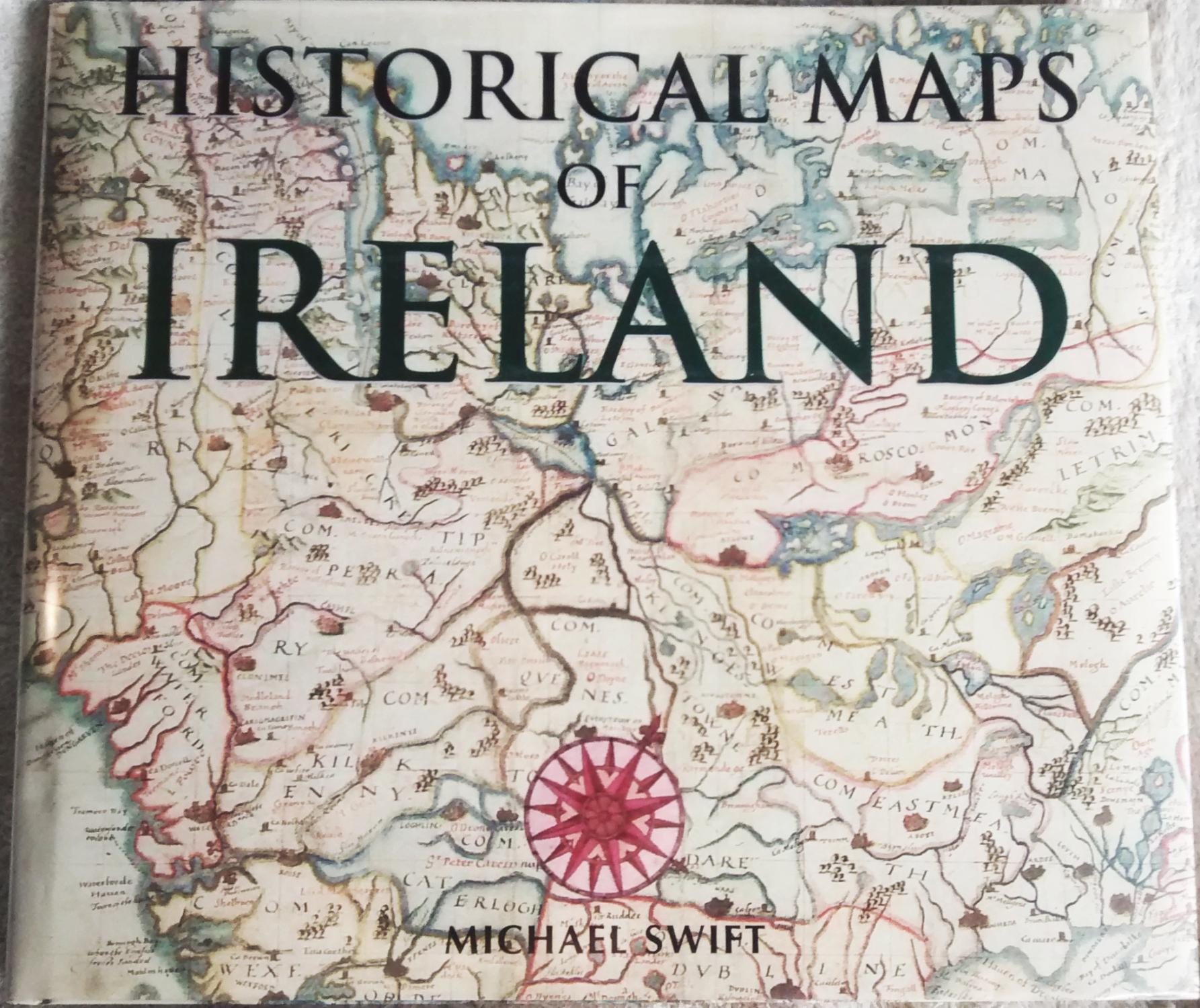 Map Of Ireland Book.Historical Maps Of Ireland