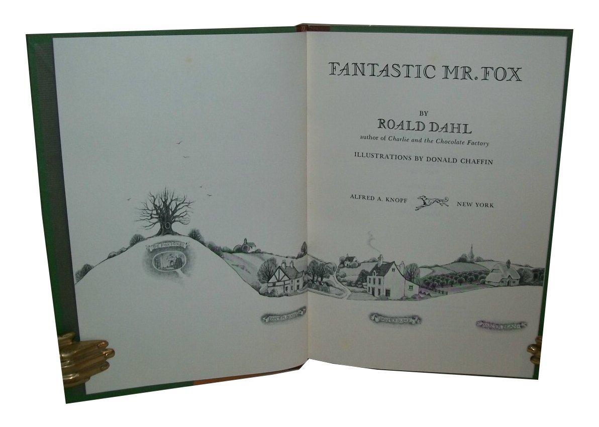 first us edition of fantastic mr fox pdf