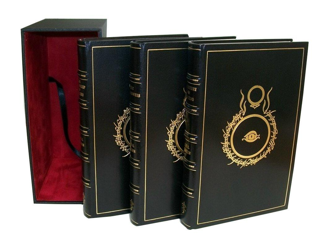 The Lord of the Rings - The Fellowship of the Ring; The Two Towers and The Return of the King Tolkien, J.R.R. Very Good Hardcover