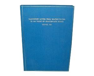 Beatrix Potter - Autograph Letter Signed: Potter, Beatrix [Heelis,