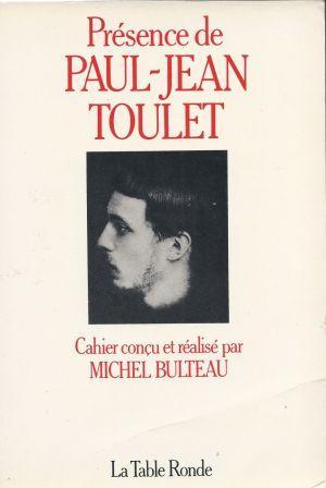 Présence de Paul-Jean Toulet Cahier conçu et: Collectif sous la
