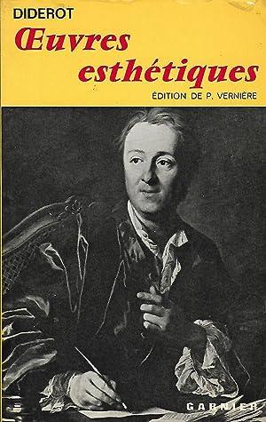 uvres esthétiques textes établis avec introductions, Bibliographie,: Diderot Denis (1713-1784)