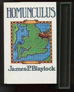 HOMUNCULUS.: BLAYLOCK, James P. (SIGNED X 3!)