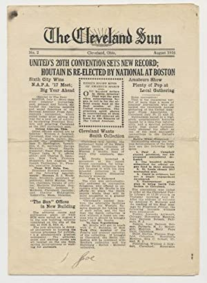 THE CLEVELAND SUN. No. 2, August 1916.: LOVECRAFT, H.P.)