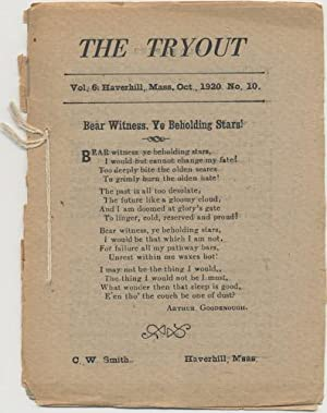 THE TRYOUT. Oct., 1920, VOL 6, NO. 910.
