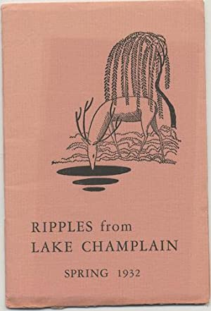 RIPPLES FROM LAKE CHAMPLAIN.: LOVECRAFT, H.P.)