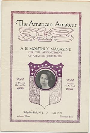 AMERICAN AMATEUR. July, 1921. No. 2.: LOVECRAFT, H.P.)