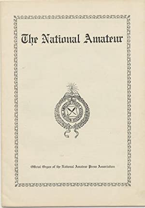 THE NATIONAL AMATEUR. MARCH, 1935. VOL. 57, NO. 3.