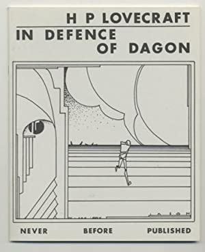 IN DEFENCE OF DAGON.: LOVECRAFT, H.P.