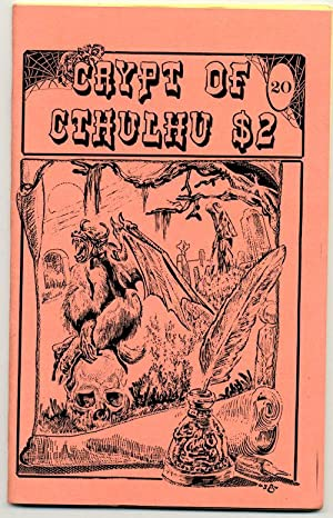 CRYPT OF CTHULHU, #20. Vol. 3, No. 4. Eastertide 1984. TWO ISSUES!