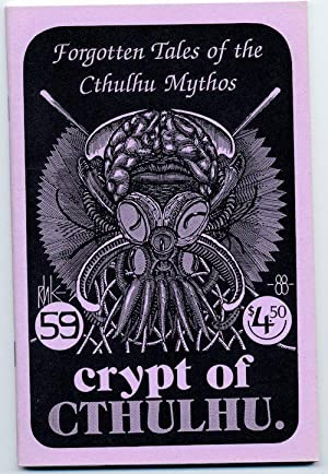 CRYPT OF CTHULHU, #59. Vol. 7, No. 9. Michalmas 1988.: LOVECRAFT, H.P.)