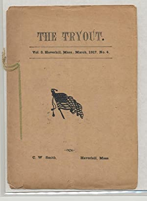 THE TRYOUT. Mar.,1917. Vol. 3, No. 4.