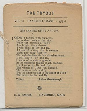 THE TRYOUT. 1937. [May].Vol. 18, No. 6.