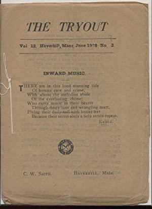 THE TRYOUT. Jun. 1928. Vol. 12, No. 2.