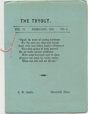 THE TRYOUT. Feb., 1932, VOL 14, NO. 11.