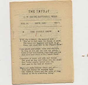 THE TRYOUT. Sept. 1936. Vol. 18, No. 1.