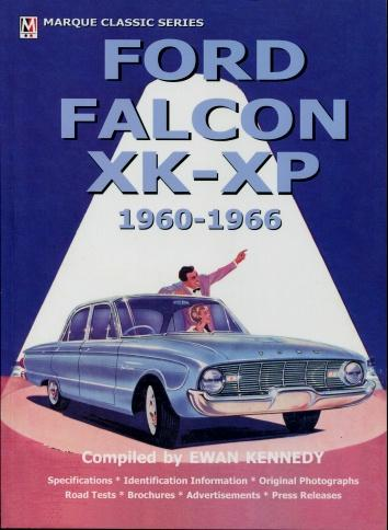 Ford Falcon XK - XP 1960 - 1966: Ewan Kennedy