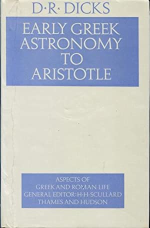 Early Greek Astronomy to Aristotle
