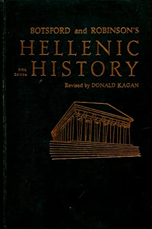 Botsford and Robinson's Hellenic History