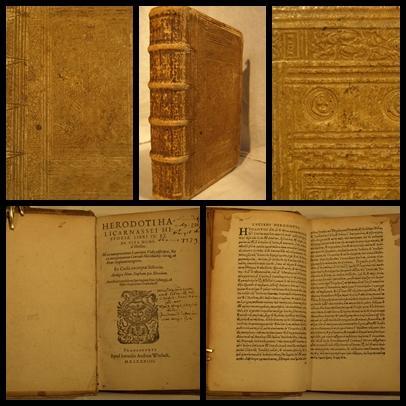 Historiae libri IX: Et de Vita Homeri libellus. Illi ex interpretatione Laurentio Vallae adscripta,...