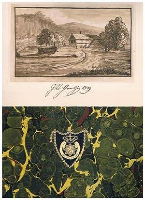 Vier Blätter aus dem Stammbuche des Fürsten Heinrich XLIII. und der Fürstin Louise ...