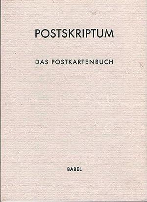 Postskriptum. Das Postkartenbuch. Herausgegeben von Kevin Perryman.