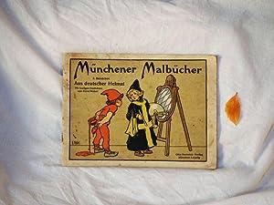 Aus deutscher Heimat. Mit lustigen Gedichten von Ernst Weber.