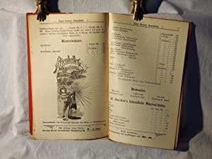 Preis-Buch von Franz Reisser. Inhaber: Franz Reisser jun.