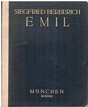 Emil. Ein Epos.: Siegfried Berberich: