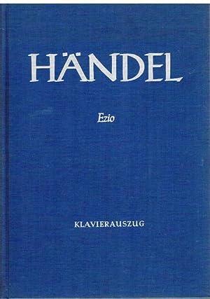Ezio. Oper in 3 Akten von Pietro Metastasio. Ins Deutsche übersetzt von Herbert Koch. ...