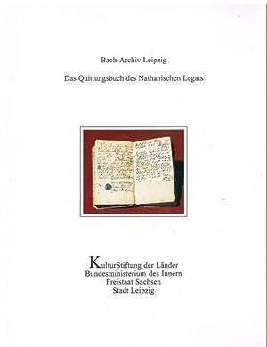 Das Quittungsbuch des Nathanischen Legats.: Hans-Joachim Schulze: