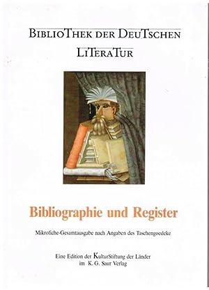 Bibliothek der Deutschen Literatur. Bibliographie und Register.