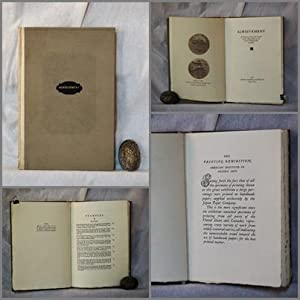Achievement. A treatise on One of the Factos in the Advancement of the Art of Printing, with ...