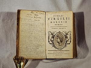 Opera. 2 Teile in 1 Band.: Vergilius Maro, Publius.