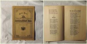 Lieder-Texte. Karnevalsgesellschaft Passau. Gegründet im Karneval 1905.
