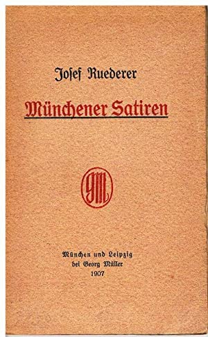 Münchener Satiren.