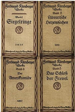 Gesammelte Werke. Herausgegeben von Otto Erich Deutsch. 4 Bände (alles Erschienene).: ...
