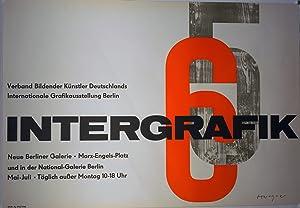 Intergrafik. Verband Bildender Künstler Deutschlands. Internationale Grafikausstellung Berlin.