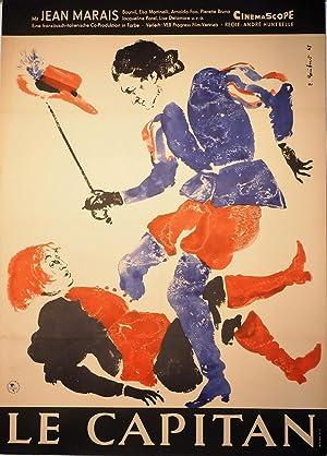 Le Capitan. Mit Jean Marais. Regie: Henri Hunebelle. Eine französisch-italienische ...