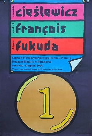 Laureaci IV Miedzynarodowego Biennale Plakatu. Roman Cieslewicz,