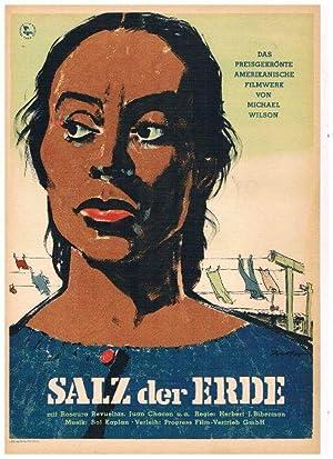 Salz der Erde. Das preisgekrönte amerikanische Filmwerk