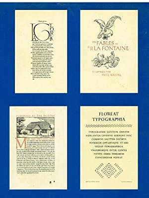 A Century for the Century. Fine Printed Books from 1900 to 1999.