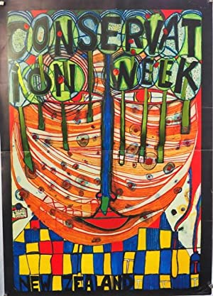 Hundertwasser. Conservation Week New Zealand.